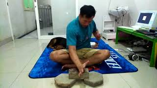 How to strengthen your hammer fist using pavingstone