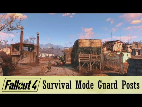 Fallout 4 Survival Mode Guard Posts Guide | Protect Yo Herd In Survival Mode