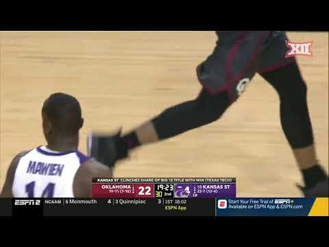 Oklahoma vs Kansas State Men's Basketball Highlights