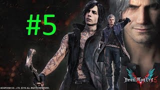 V İLE OYNUYORUZ ! | Devil May Cry 5 Bölüm#5