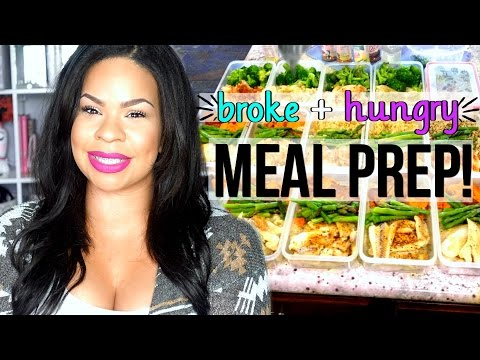 $20 EPIC MEAL PREP 5 MEALS/5 DAYS MEAL PREP WITH ME | BUDGET MEAL PREP TO SAVE TIME + EAT HEALTHY