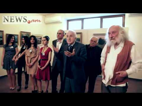 Exhibition of French-Armenian painters in Arame art gallery in Yerevan