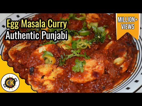 Egg Curry (Anda Curry) Authentic Punjabi...