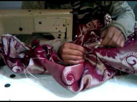 طرية خياطة ثوب لحاف معمر(Method of sewing a dress mattress)