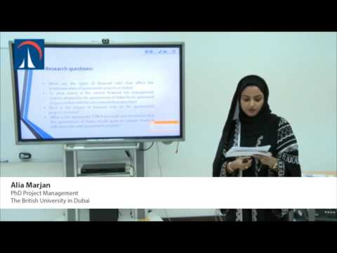 Alia Marjan - The Financial Risk Management in Governmental Projects in Dubai