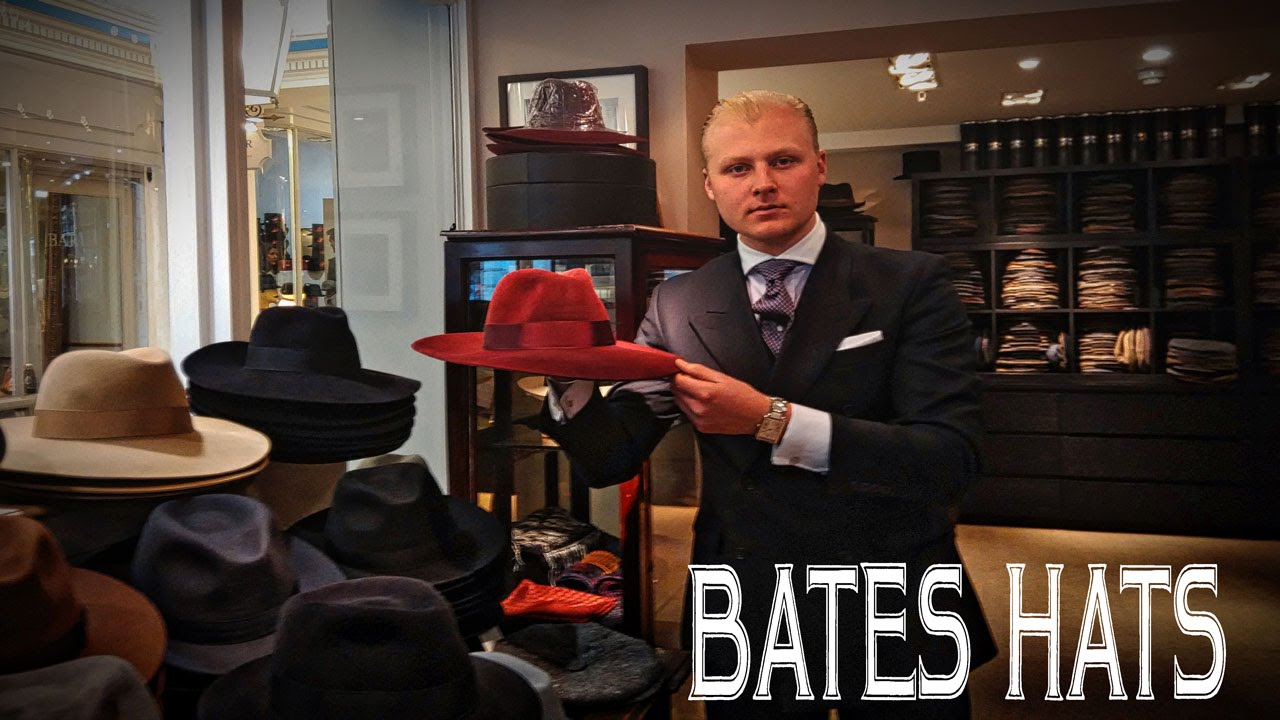 Bates Hats  Over 100 Years of Elegance - Simply Handsome 247 - YouTube c8530397c92