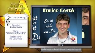 Sänger Enrico Costa -  Sie ist nicht wie Du--Amber Musik Promotion