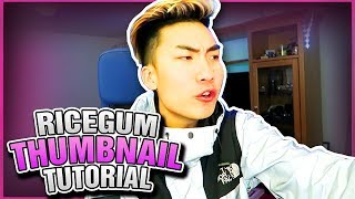 Simplest Way To Make  RiceGum/Jake Paul Thumbnail Style |  Photoshop Tutorial (2017)