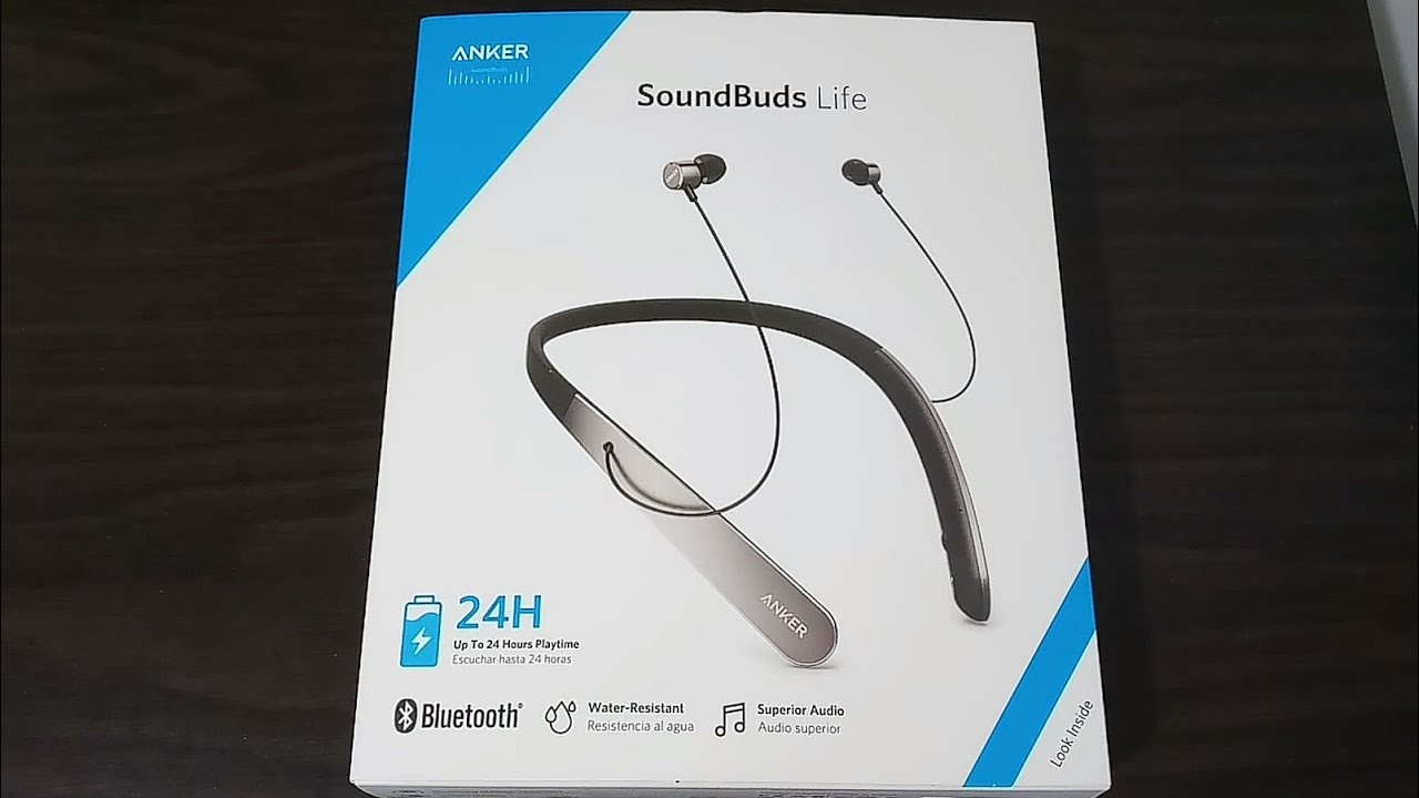 485a6664cb4 Anker SoundBuds Life Bluetooth Unboxing & Detailed Look (Compared With LG  Tone & SkullCandy)