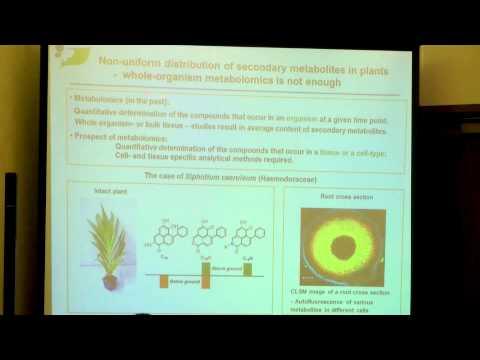 Bernd Schneider| Max Planck Institute for Chemical Ecology | Germany | Metabolomics 2014