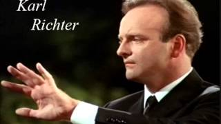 "Karl Richter ""Concerto grosso op 6 No 7"" Händel"