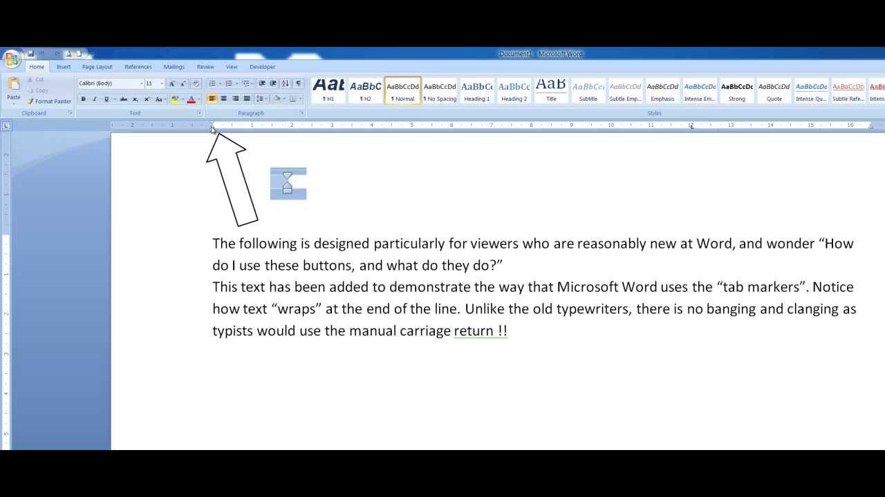 how to use tab buttons  indent markers  in microsoft word
