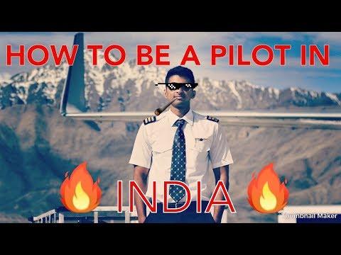 How to be a PILOT in INDIA