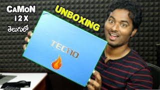 Tecno Camon i2X New Smartphone For Selfie Camera Unboxing & Review In 2018