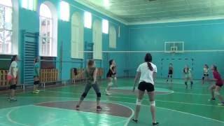 Игровая тренировка /волейбол/ в школе № 47 /05.11.2016/