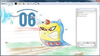 06 - MyPaint Tutorial Lesson 6 (Exporting)