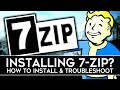 Gambar cover How to Install 7-ZIP for Extracting Archived Files! 2020