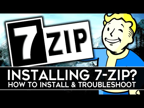 How to Install 7-ZIP for Extracting Archived Files! (2020)