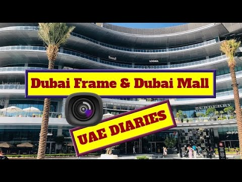 UAE DIARIES | Day 4 | Dubai Frame | Dubai Mall