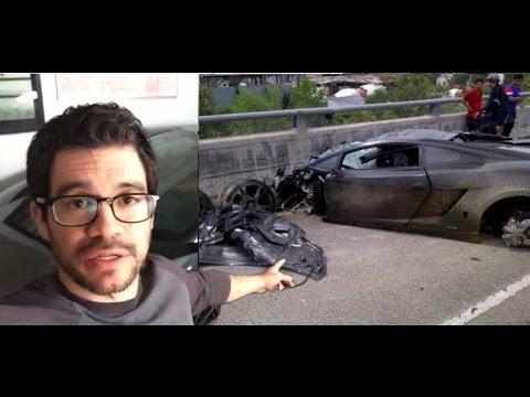 Tai Lopez Crashed A Lamborghini