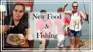 Friendship Bucket List #1 - New food and fishing madness!
