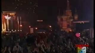 Мы желаем счастья вам. С.Намин, Чайф, А.Скляр, Ж.Агузарова на Красной площади. 1997