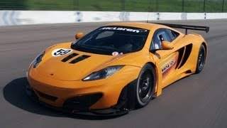 Mclaren Mp4-12c Gt3 Racer On Track - Review By Www.Autocar.Co.Uk