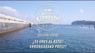 Presentación Travesía Salome Campos 2018 | 2018 Salome Campos Igeriketaren aurkezpena