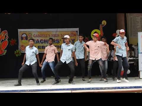 SGHS kazipet Teachers day 2018 group dance - Zircon