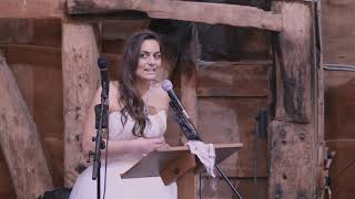 Bride Speech: The Hand and Flowers