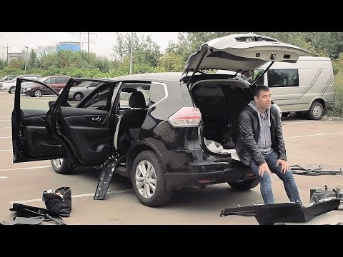 АВТОХЛАМ за 1.300.000р ЖЕСТЬ Nissan X Trail, почти кабриолет