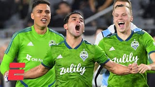 Seattle Sounders stun LAFC to reach third MLS Cup final in four years | MLS Highlights
