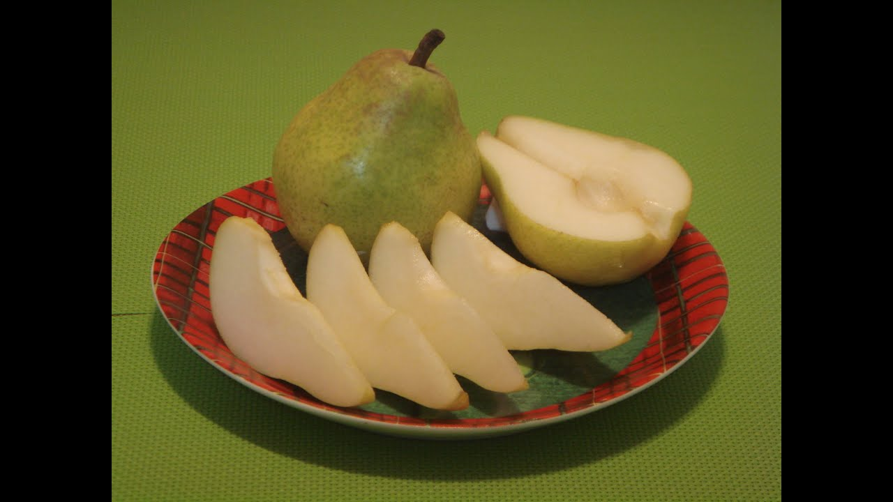 Bartlett Pear How To Eat