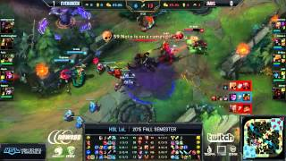 HSL LoL Fall W1 | James Monroe vs Evergreen | Game 2