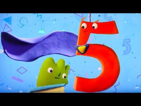 Циферки Пластилинки - Пятёрка - 5 - Союзмультфильм 2019 HD