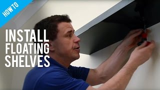 How To Hang Floating Shelves On A Stud Wall