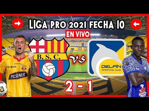BARCELONA VS DELFIN EN VIVO 2-1 HOY 2021 LIGA PRO ECUADOR BSC BARCELONA SC PARTIDO DE GOLTV GOL TV