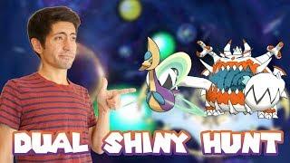 DUAL SHINY HUNT! Shiny Cresselia and Guzzlord in Pokemon Ultra Sun/Ultra Moon! Come hangout!