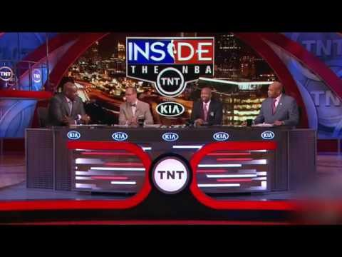 Shaq tests to see whether Ernie Johnson is gangster or not