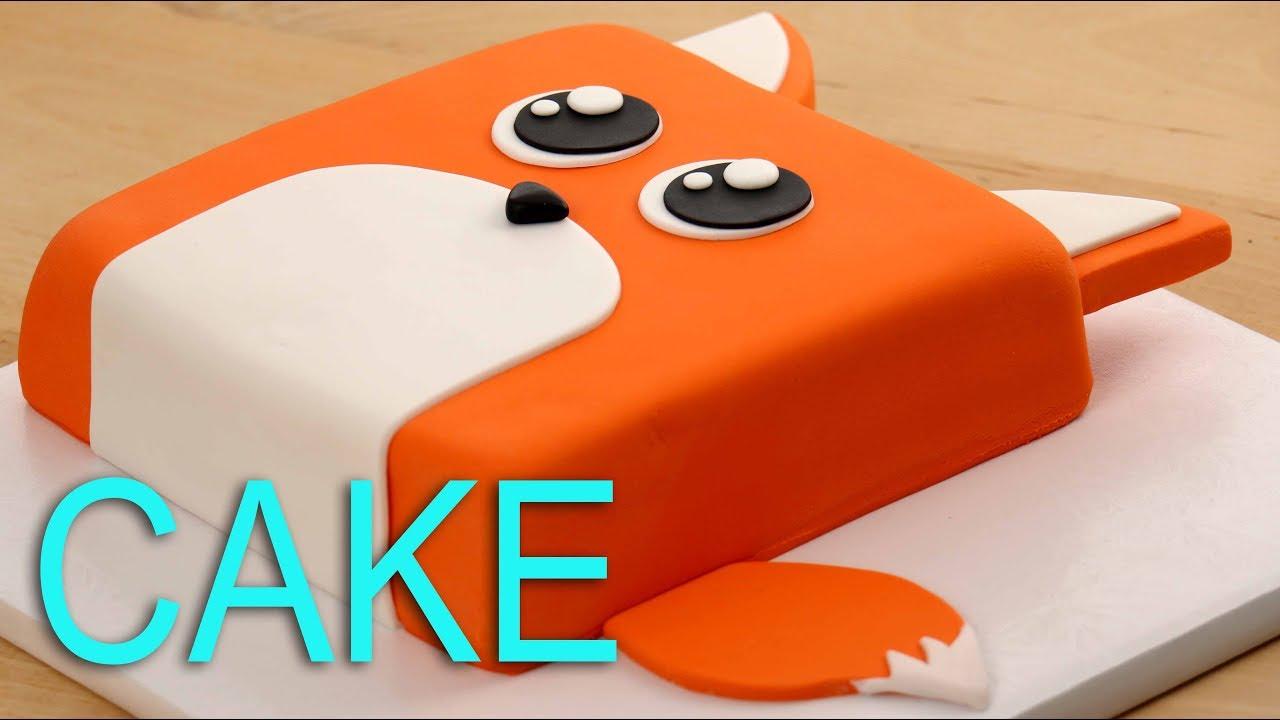 Amazing Fox Cake 😍 Youtube