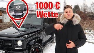 1000€ WETTE gegen AVIVEHD! G63 AMG vs BLVCK ONE