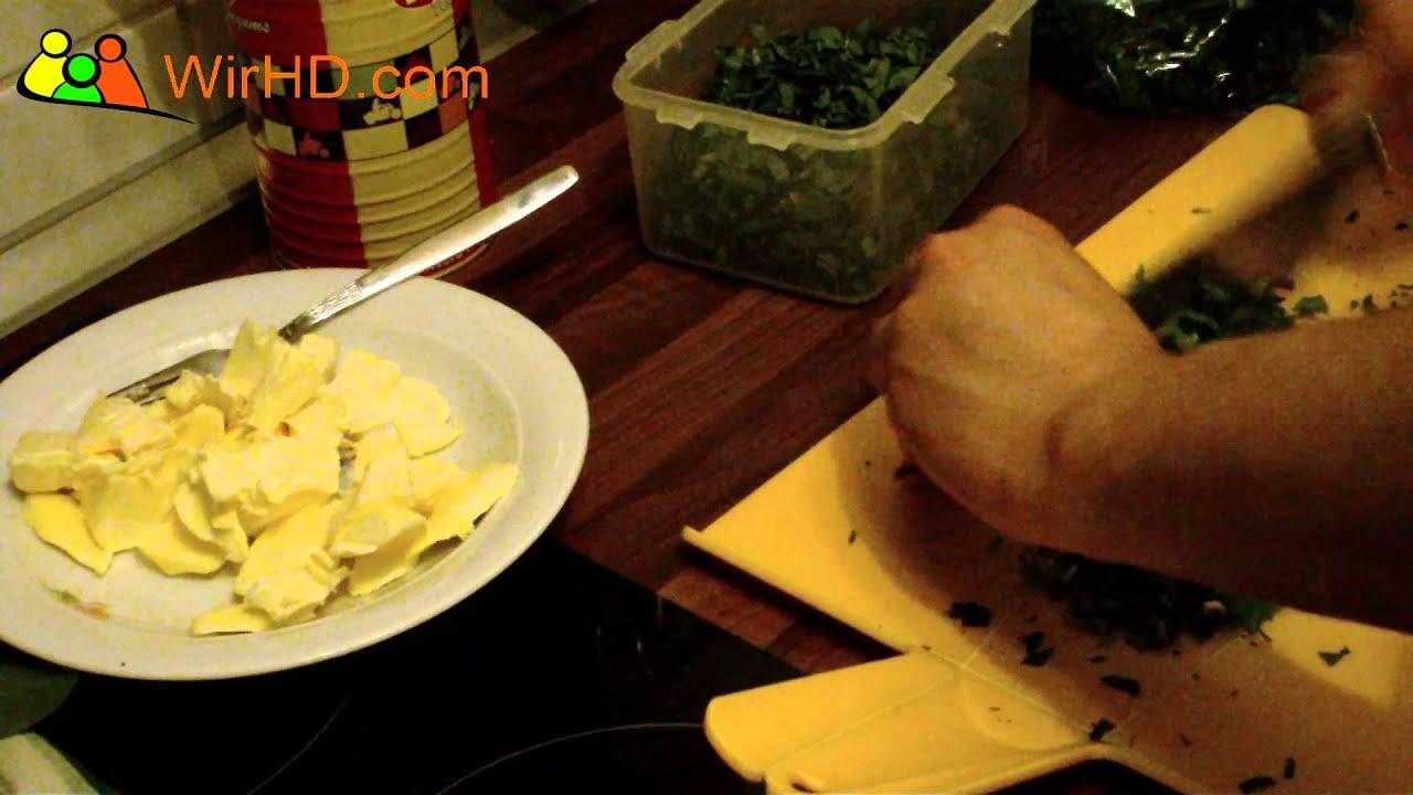 b rlauch butter selber machen b rlauchbutter rezept youtube. Black Bedroom Furniture Sets. Home Design Ideas