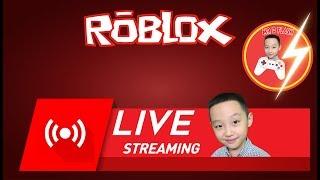 Roblox Live Stream | MrDFLASH LIVE ROBLOX 14/06/2018 | Summer