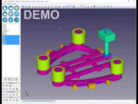 CAST-DESIGNER LT for Gravity (1), An Economic Simulation Solution for Casting Process