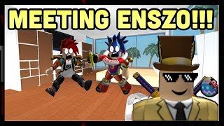 ROBLOX/MEETING ENSZO!!! /WITH SONCENA01!!!