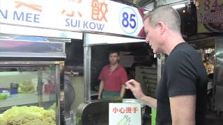 A sampling of Penang Hawker food