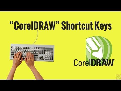 Short Cut Keys in CorelDRAW | Coreldraw keys | hindi