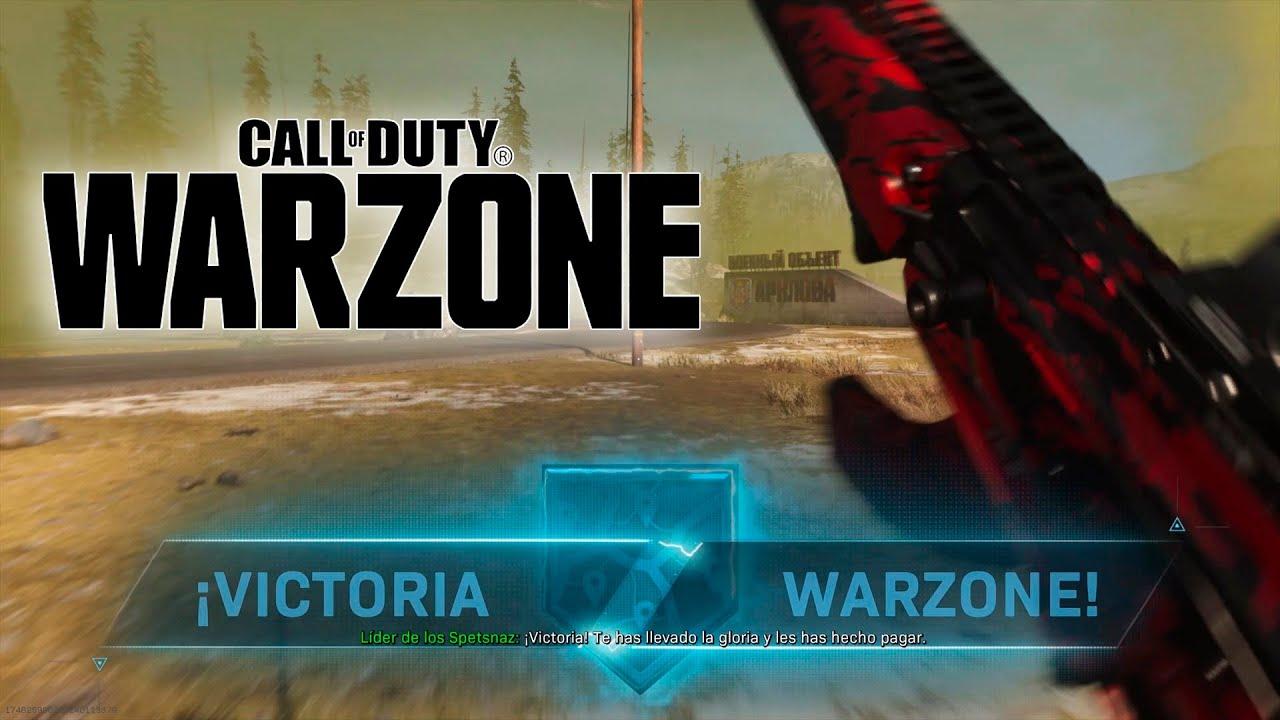 WARZONE Victoria con el gas en los talones VR_JUEGOS