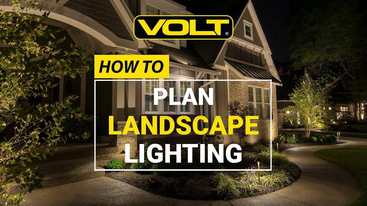 landscape lighting low voltage
