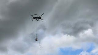 Дрон-перехватчик будет охотится на беспилотники-нарушители (новости)
